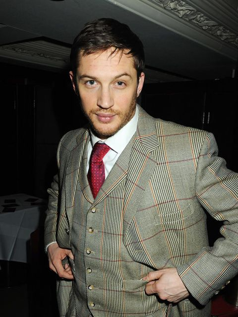 <p>He's puling that suit off like a pro!</p>