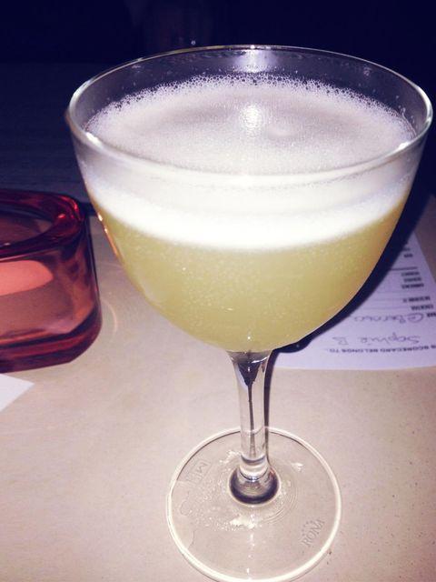 <p>Berners Tavern's Elgin Ale cocktail. </p>