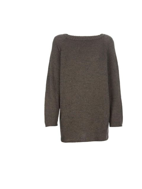 "<p>Add a knitted, over-sized jumper, like this one from Stella Jean available for £251 at <a href=""http://www.farfetch.com/shopping/women/stella-jean-chunky-knit-sweater-item-10253508.aspx"">Farfetch.com </a></p>"