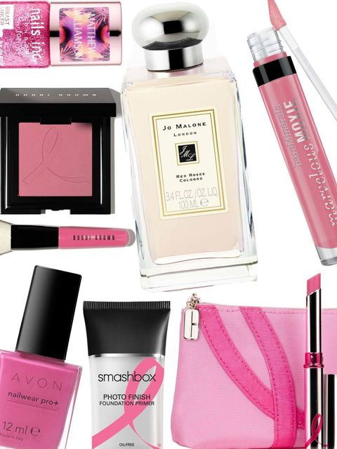 """<p>October marks Breast Cancer Awareness month,  an initiative that, each year, team ELLE gets behind whole-heartedly.</p><p>Whether you wear a pink ribbon; take part in <a href=""""http://www.elleuk.com/beauty/news/estee-lauder-and-elizabeth-hurley-light-th"""