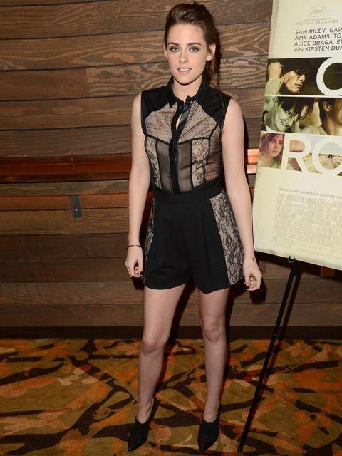 <p>Kristen Stewart in Jason Wu attends a screening of On The Road, LA, December 2012.</p>