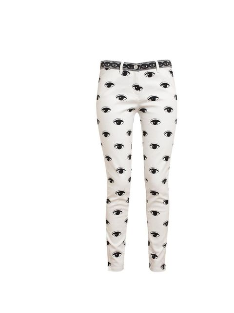 "<p>Kenzo eye-print jeans, was £260 now £155, at <a href=""http://www.brownsfashion.com/product/03K232710002/298/eye-printed-denim-jeans"">Browns Fashion</a></p>"