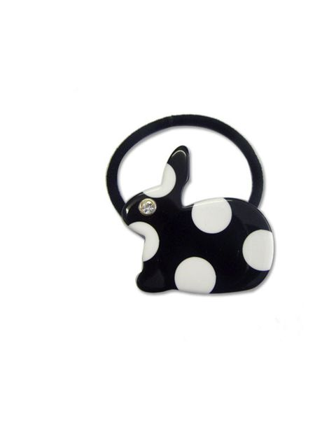 "<p>Katie Hillier bunny hair bobble, £34, at <a href=""http://www.3939shop.com/products/kate-hillier-dotty-bunny-pony"">3939shop.com</a></p>"