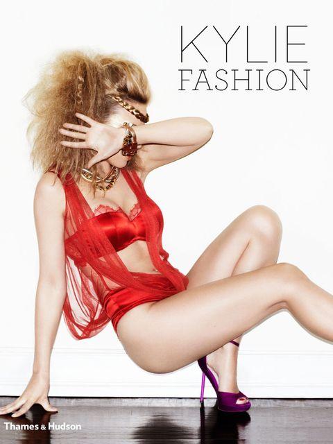 <p>Kylie/Fashion book cover</p>
