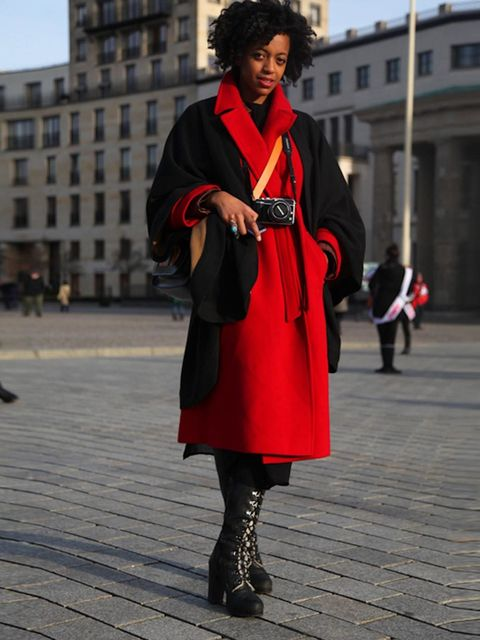 <p>Marta, Fashion Blogger.</p>