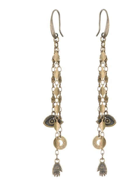 "<p>Evil eye jewellery is the cool girl must-have right now, and you can't get better than Isabel Marant's new earrings… Isabel Marant evil eye earrings, £65, at <a href=""http://www.matchesfashion.com/"">Matchesfashion.com</a></p>"