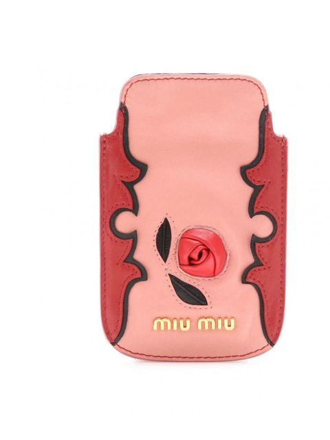 "<p>Miu Miu iphone case anyone? By far the most covetable phone accessory out there, snap it up before every fashion editor does… Miu Miu leather iPhone case, £120, at Mytheresa</p><p><a href=""http://shopping.elleuk.com/browse?fts=miu+miu+iphone"">BUY NOW"
