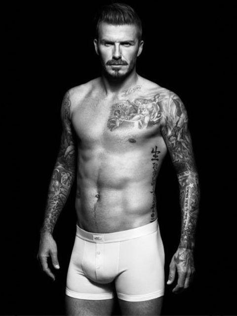 <p>David Beckham Bodywear campaign image</p>