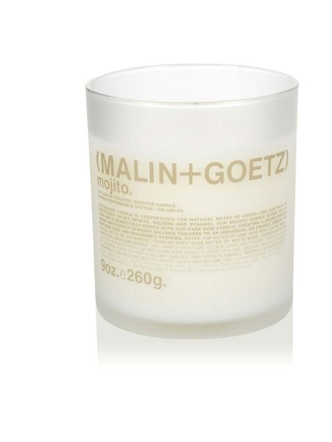"""<p><a href=""""http://uk.spacenk.com/mojito-candle/MUK200006647.html"""">Malin + Goetz Mojito Candle, £37</a></p><p>Ahhh, light it up and be transported to a hot beach after you've just splashed in the sea or lazed around in the sun and are now sipping a well d"""