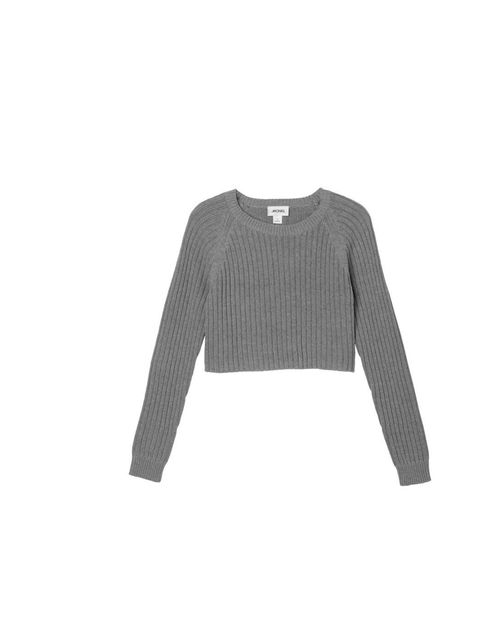"<p>Associate Health & Beauty Editor Amy Lawrenson loves high street brand Monki. She'll layer this cropped knit over a shirt and jeans.</p><p><a href=""http://www.monki.com/Shop/View_All/Bo_knitted_top/18669-5855133.1"">Monki</a> jumper, £20</p>"