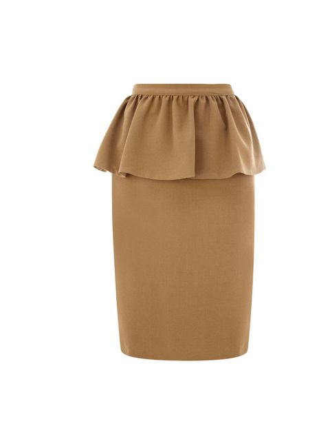 "<p>Warehouse peplum pencil skirt, £45</p><p><a href=""http://shopping.elleuk.com/browse?fts=warehouse+peplum"">BUY NOW</a></p>"