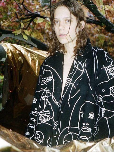 Clara Deshayes(@claradeshayes)'by @blackpierreange wearing @stellamccartney styled by @williamsdaytona @estherbambi'