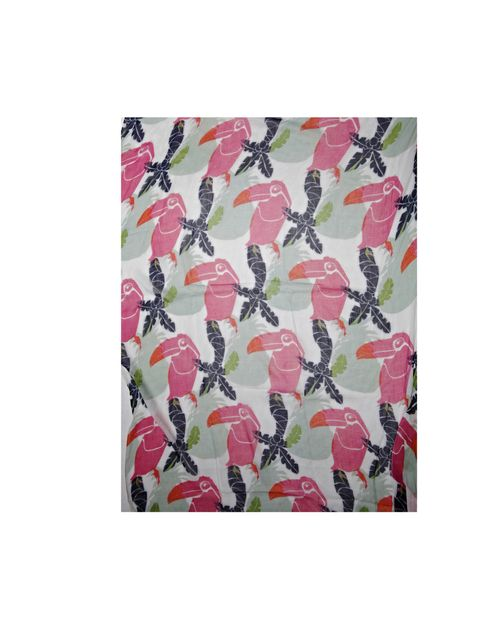 """<p>Pep-up your look in an instant with this beautifully summery scarf… Jago toucan print scarf, £55, at <a href=""""http://www.matchesfashion.com/"""">matchesfashion.com</a></p>"""
