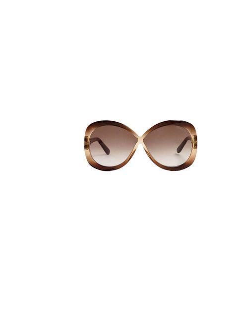 "<p>Tom Ford 'Margot' sunglasses, £270, at <a href=""http://www.my-wardrobe.com/tom-ford/margot-tf226-cross-over-bow-sunglasses-572121"">my-wardrobe.com</a></p>"