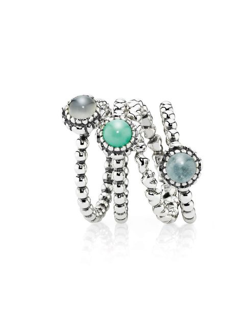 "<p>Make the A-list and stack these Pandora rings to the max… <a href=""http://www.pandora.net/en-gb/"">Pandora</a> sterling silver rings, from £40</p>"
