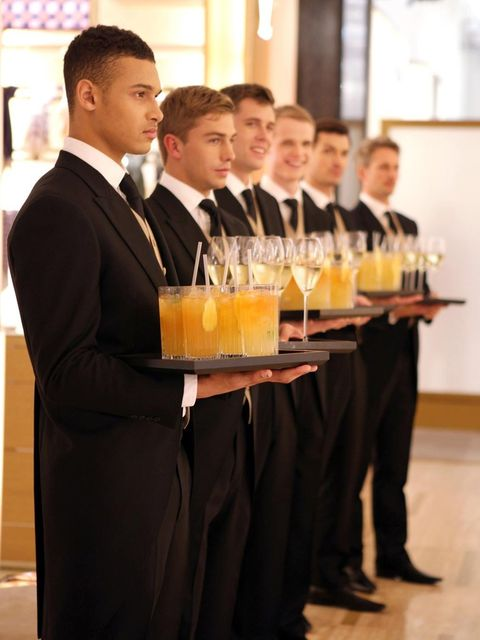 "<p>Waiter at the Louis Vuitton Townhouse</p><p><a href=""http://www.elleuk.com/catwalk/designer-a-z/louis-vuitton/spring-summer-2014""></a></p><p><em><a href=""http://www.elleuk.com/fashion/what-to-wear/elle-wears-louis-vuitton"">ELLE wears Louis Vuitton</a><"