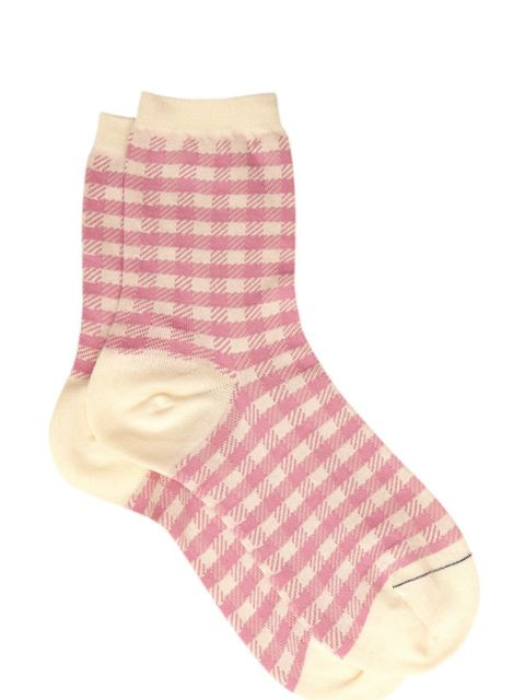 """<p>Pantherella gingham ankle socks, £15, at <a href=""""http://www.liberty.co.uk/"""">Liberty</a></p>"""