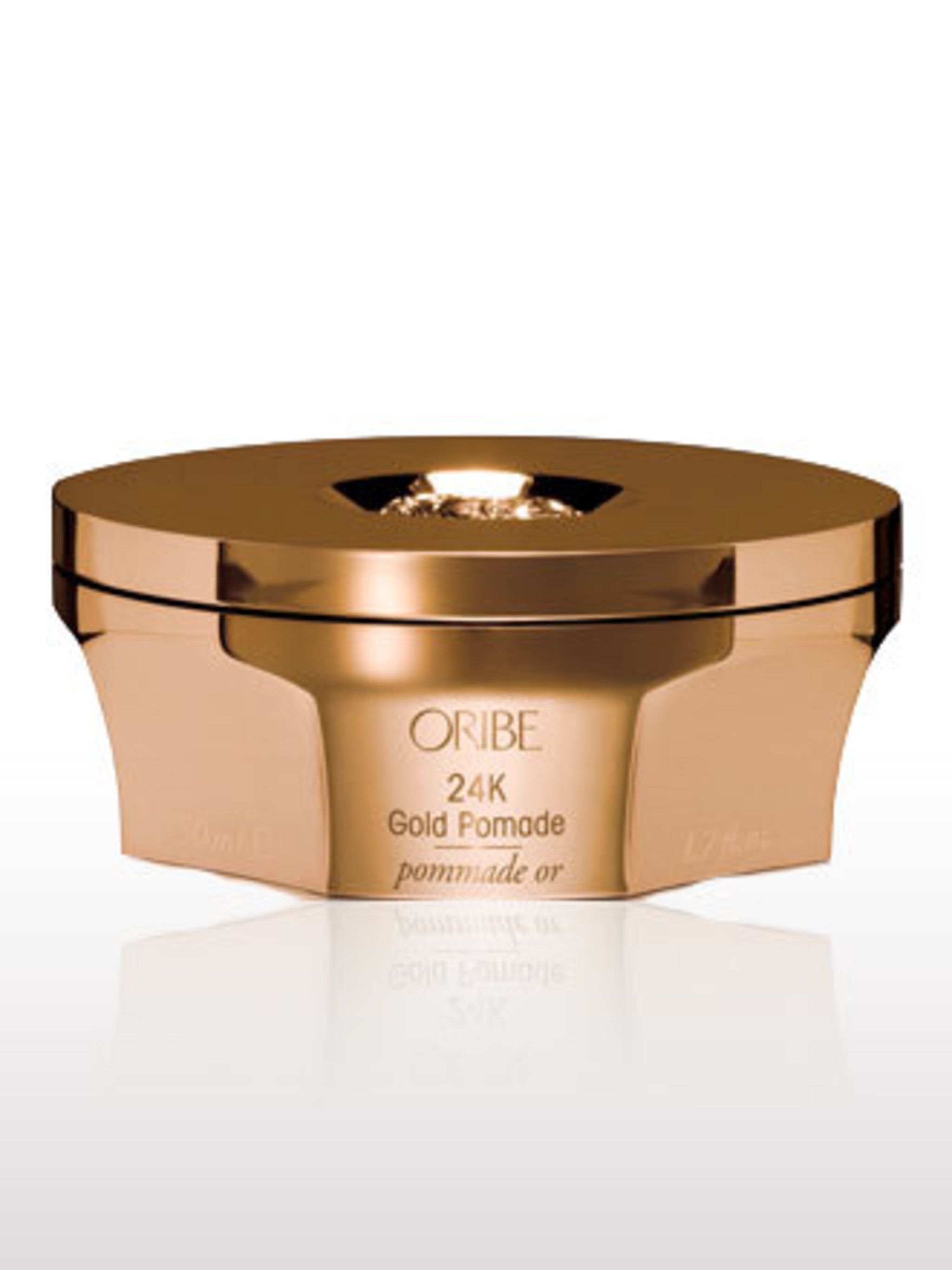 <p>Having worked with everyone from Karl Lagerfeld to Diana Ross, Oribe is a legendary hairdresser. Our favourite product from his new range at Space NK? This gold pomade, it gives you glossy, glimmering Hollywood hair in an instant.</p><p>24K Gold Pomade