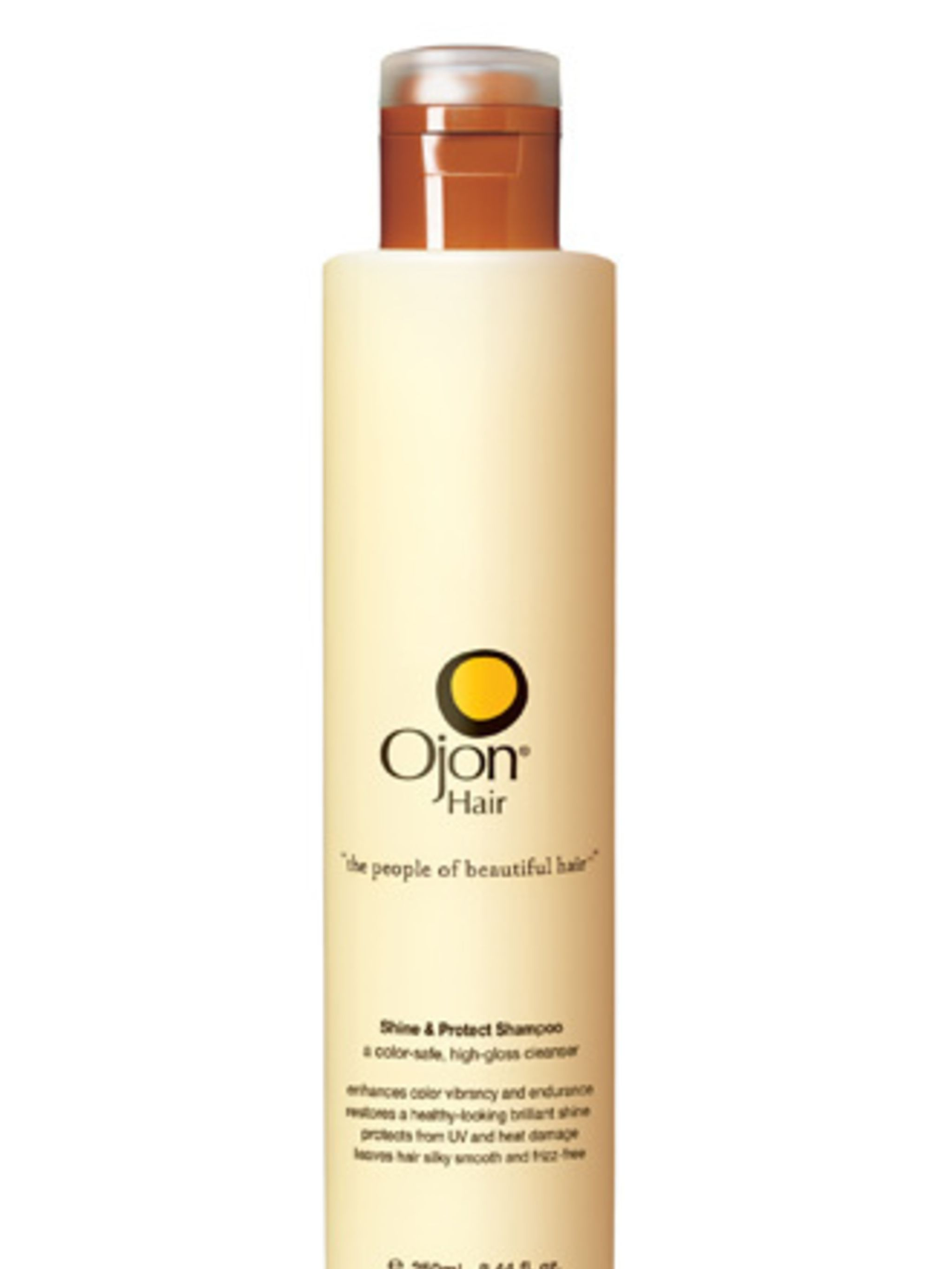 <p><strong>…that conditions, adds shine and boosts colour</strong>Ojon's shampoo doesn't just give your hair a good cleanse, it also imparts shine thanks to the broccoli seed oil. It's also packed with papaya extract which softens the hair, while Lime pee