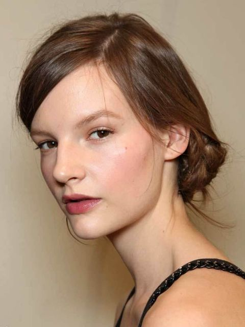 <p>World famous hairstylist Frederic Fekkai says, 'This knotted hairstyle makes a beautiful bridal look that would work well for Kate. It's youthful but still classic and exudes a bit of drama that I think would appeal to her.''Using a round brush, blow-d