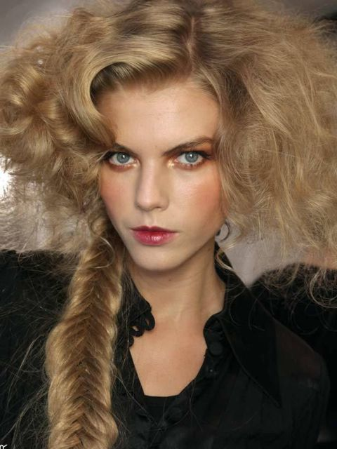"<p>Airy texture injected added interest to up and down dos on the autumn/winter catwalks; think Marie-Antoinette meets modern day. Hair was frothy, lightweight and romantic at an endless list of shows including <a href=""http://www.elleuk.com/catwalk/colle"