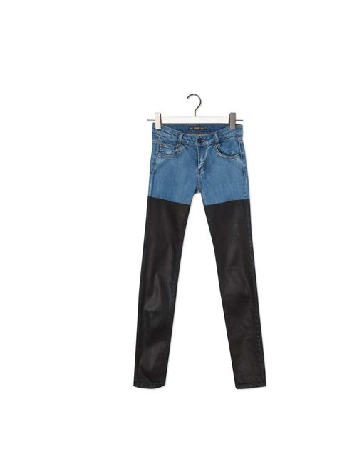 "<p>Production & Bookings Assistant Melanie De La Cruz will wear these dipped jeans with a pair of chunky flatforms and a white tee. </p><p><a href=""http://www.pullandbear.com/webapp/wcs/stores/servlet/category/pullandbeargb/en/pullandbear/29022/Jeans?SALE"