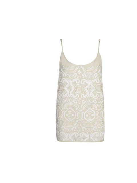 "<p>This beautiful silk vest, with its intricate rope embroidery, would be great to wear to a special garden party (with plenty of Pimms). I'd style it with a floaty maxi skirt.</p><p>- Claire Sibbick, Junior Sub-Editor</p><p><a href=""http://www.jigsaw-onl"