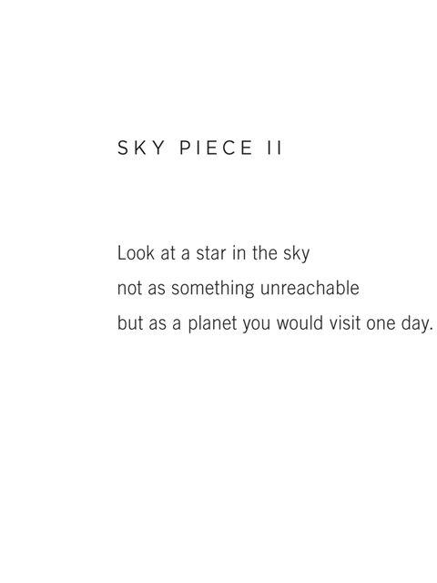 <p>SKY PIECE II</p>
