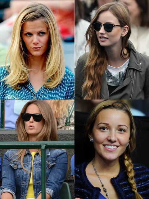 <p>The Wimbledon Wives and Girlfriends (WWAGs) manage to look perfectly preened on every outing. It must be stressful watching their other halves battle it out on the court, but in the stands there is a beauty battle simmering away too. </p><p>These ladie