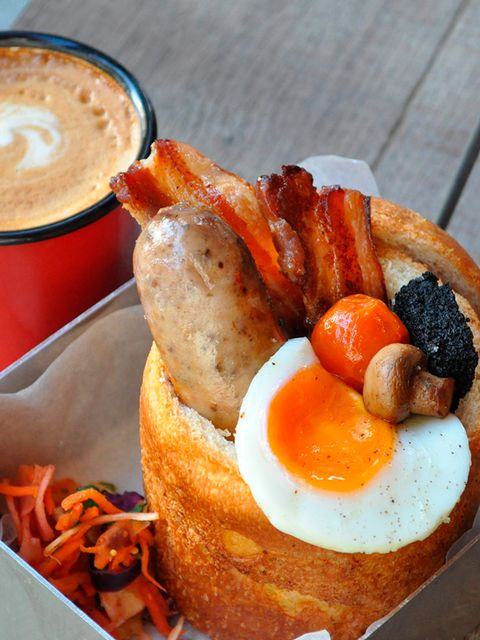 <p>FOOD: Bunny Chow Pub Pop Up</p>  <p>So, how do you improve upon a full English breakfast, a slow-cooked lamb curry and a piri-piri pulled pork? You serve them in a bread case, duh. Cult street food truck Bunny Chow have been spreading this simple truth