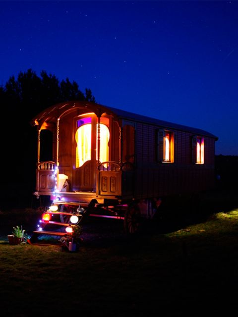 "<p><a href=""http://coolstays.com/retreat"" target=""_blank"">Roulotte Retreat</a>, Melrose, Scottish Borders</p>