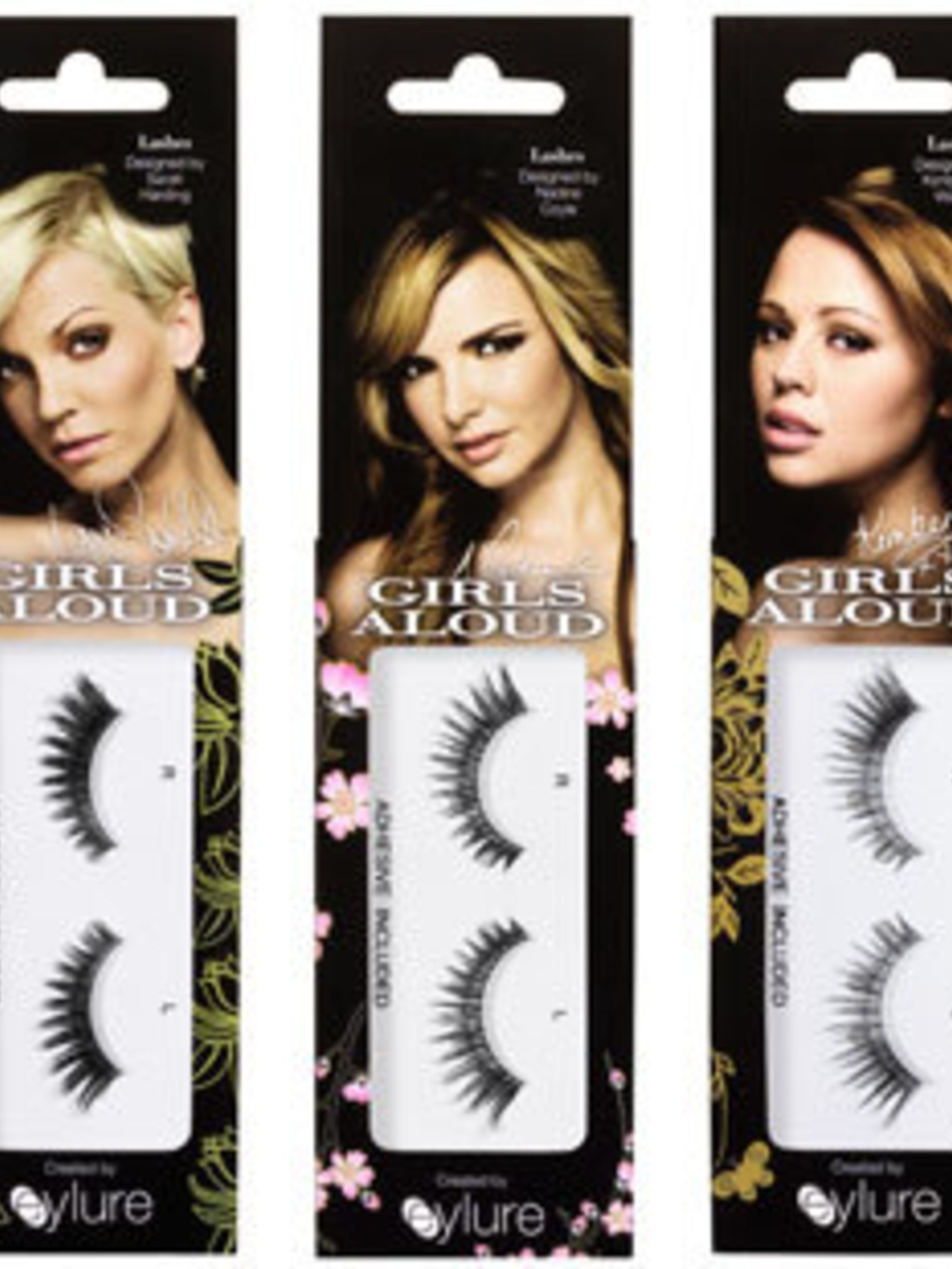 e865382cd73 Girls Aloud bat their lashes with Eylure
