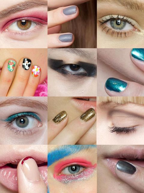 <p>Matching nail polish and lipstick is nothing new, but what's so much cooler (and seen all over the autumn/winter 2013 catwalks) is a more unlikely pairing - it's time to get matchy-matchy with your eyeshadow and nail polish.</p><p>But which pairing wil