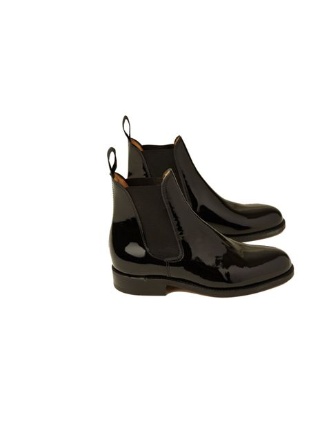 "<p>Keeping warm, dry and stylish is no easy feat right now, but YMC's new patent boots will do just the trick... <a href=""http://www.youmustcreate.com/products/shoes-womens/ladies-pantent-chelsea-boot/"">YMC x Mark McNairy</a> Chelsea ankle boots, £239</p>"