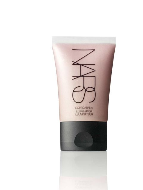"<p>The glow giver</p>  <p><a href=""http://www.narscosmetics.co.uk/color/multi-use/illuminators/?d=true&gclid=CJaFpfz7lLQCFU3HtAodoEwAgQ"" style=""line-height: 1.6;"">Nars Copacabana Illuminator</a><span style=""line-height:1.6"">, £22.</span></p>  <p>One of th"