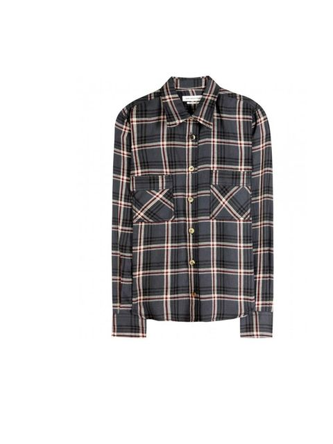 """<p>When it comes to casual cool the checked shirt is your go-to. Perfect for transeasonal looks, dress it down with denim or luxe it up with a tailored trouser. Check it out…</p><p>This one is Marant Etoile, £250 available at <a href=""""http://www.mytheresa"""