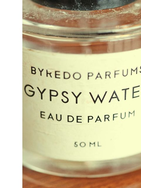 """<p>'I think perfume is such a personal thing, I wear <a href=""""http://www.elleuk.com/beauty/beauty-notes-daily/pop-up-and-pop-in"""">Byredo</a> Gypsy Water, I think it's beautiful.'</p>"""