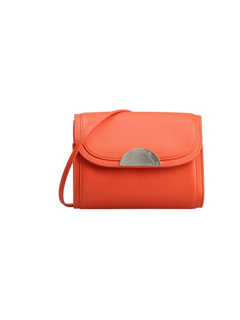 "<p>If the orange buttery-textured leather wasn't enough to reel you in, this clever little bag has a removable strap which means you have a clutch and satchel all for the price of one.<a href=""http://www.thecorner.com/gb/women/small-leather-bag_cod4519481"