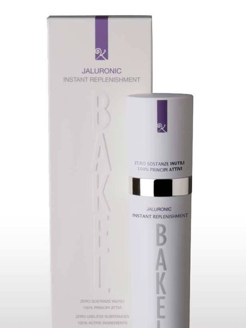 """<p>Bakel Jaluronic Instant Replenishment Serum, £85 at <a href=""""http://www.spacenk.co.uk/product/wellness/200005708+jaluronic+(instant+replenishment).do?search=basic&keyword=bakel&sortby=bestSellers&page=1"""">Space NK</a></p>"""