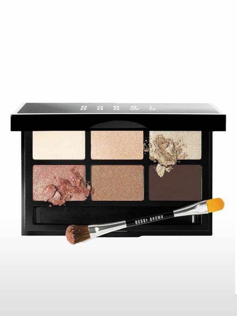 "<p><a href=""http://www.bobbibrown.co.uk/product/2300/19474/Gifts/Sets-Palettes/Makeup-Palettes-Sets/Warm-Party-Eye-Palette/Gift-Collection/index.tmpl"">Bobbi Brown</a> Party Eye Palette in Warm, £39</p>"