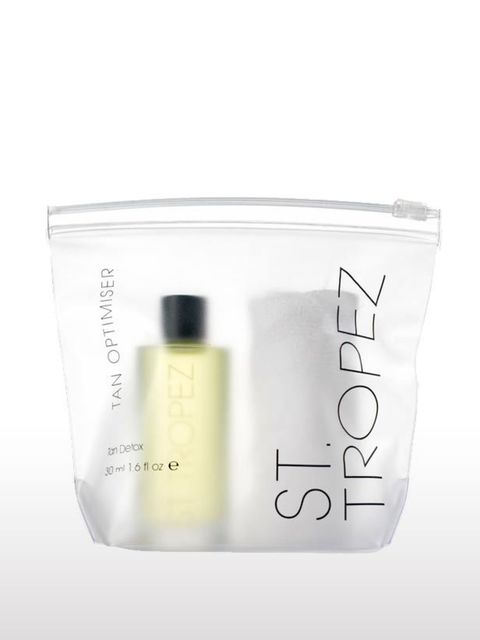<p>If you've faked your way to bronzed glow just in time for your office party but a hurried application has left more streaks than are welcome you'll need St Tropez's Tan Detox, £25.53. A fragrant bath oil that gently strips back layers of tan as you rel