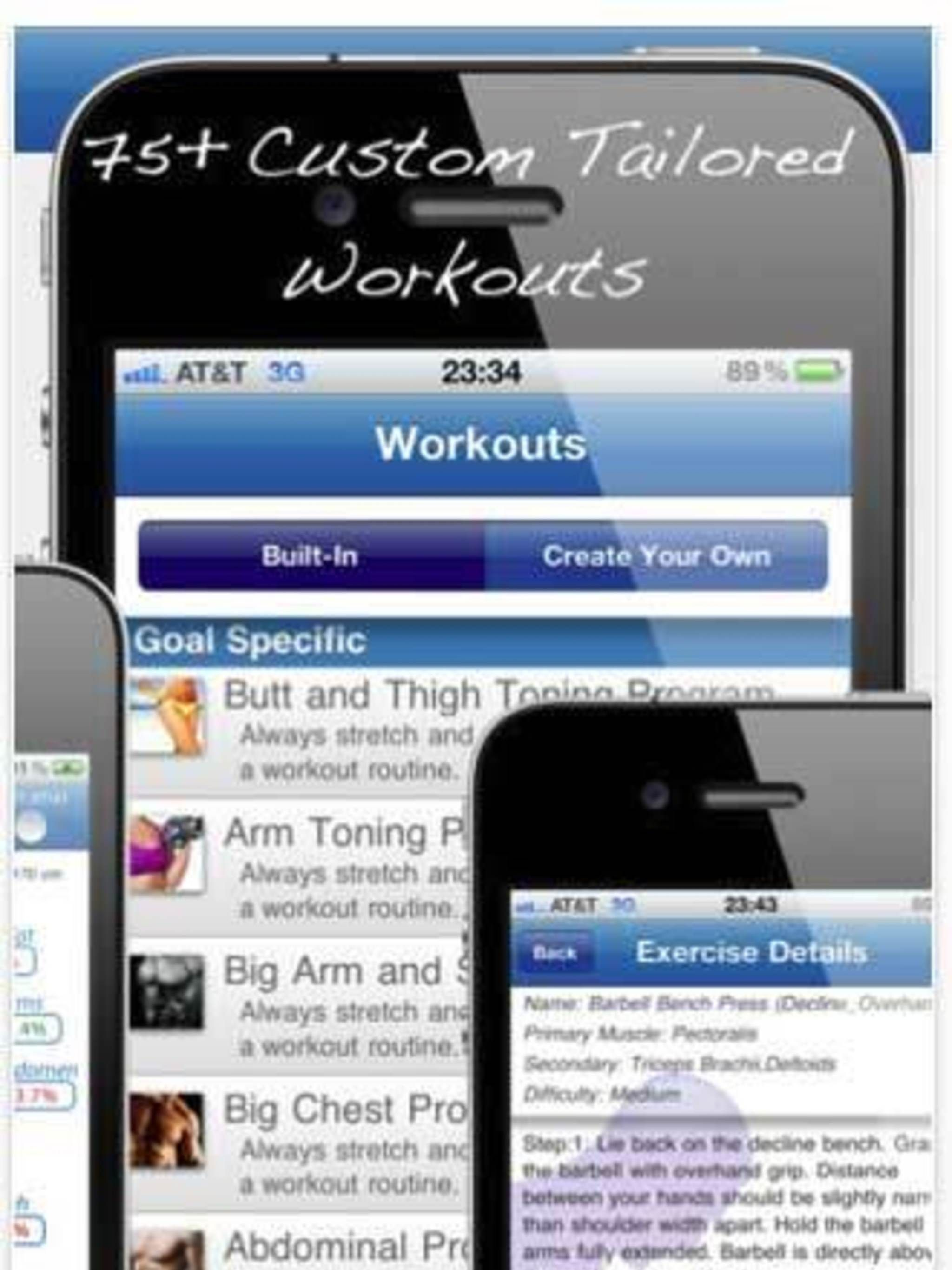 <p>The ultimate mobile workout guide, whether you want to tone your whole body, concentrate on strengthening your core or work on tightening your bum, this app has every option covered and thanks to the easy graphics and simple instructions, even first ti