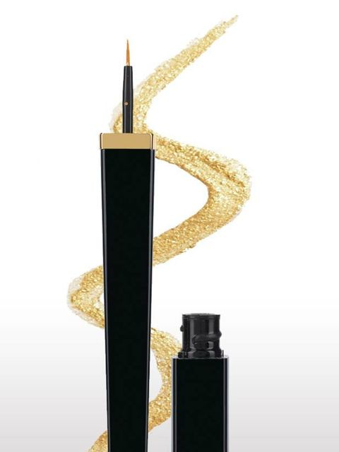 <p>Get into the festive spirit of things with this gold liner from Chanel. Pair with a bold berry lip to finish the look.</p><p>Chanel Ligne Extreme in 307, £22. Enq: 0207 493 3836</p>