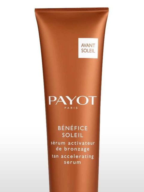 <p><strong>Two weeks to go</strong></p><p>This a godsend for paler skintypes who don't go sunkissed with quite as much ease. Payot's serum stimulates melanin production that turns you brown. Apply daily two weeks before sun exposure, Dr Payot's tan accele