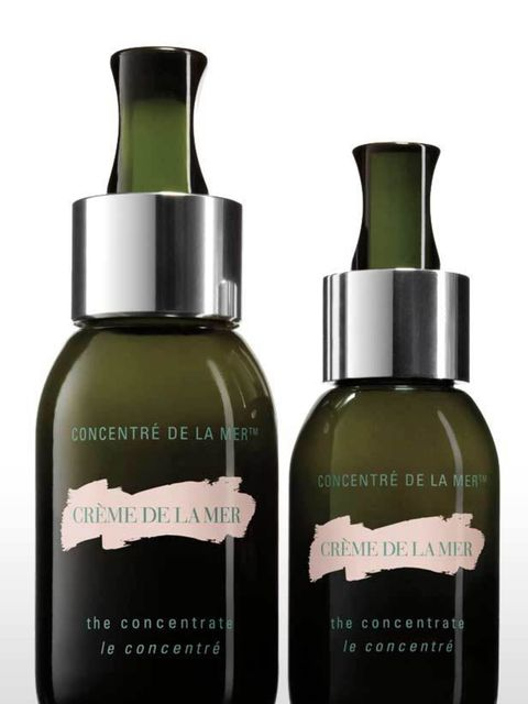 <p>This is a super serum that is like having a facial in a bottle. It was designed to treat skin post-treatment or surgery but I use it once a week to give my skin a rejuvenating treat.</p><p>Crème de la Mer The Concentrate, £220 for 30ml (launching Octob