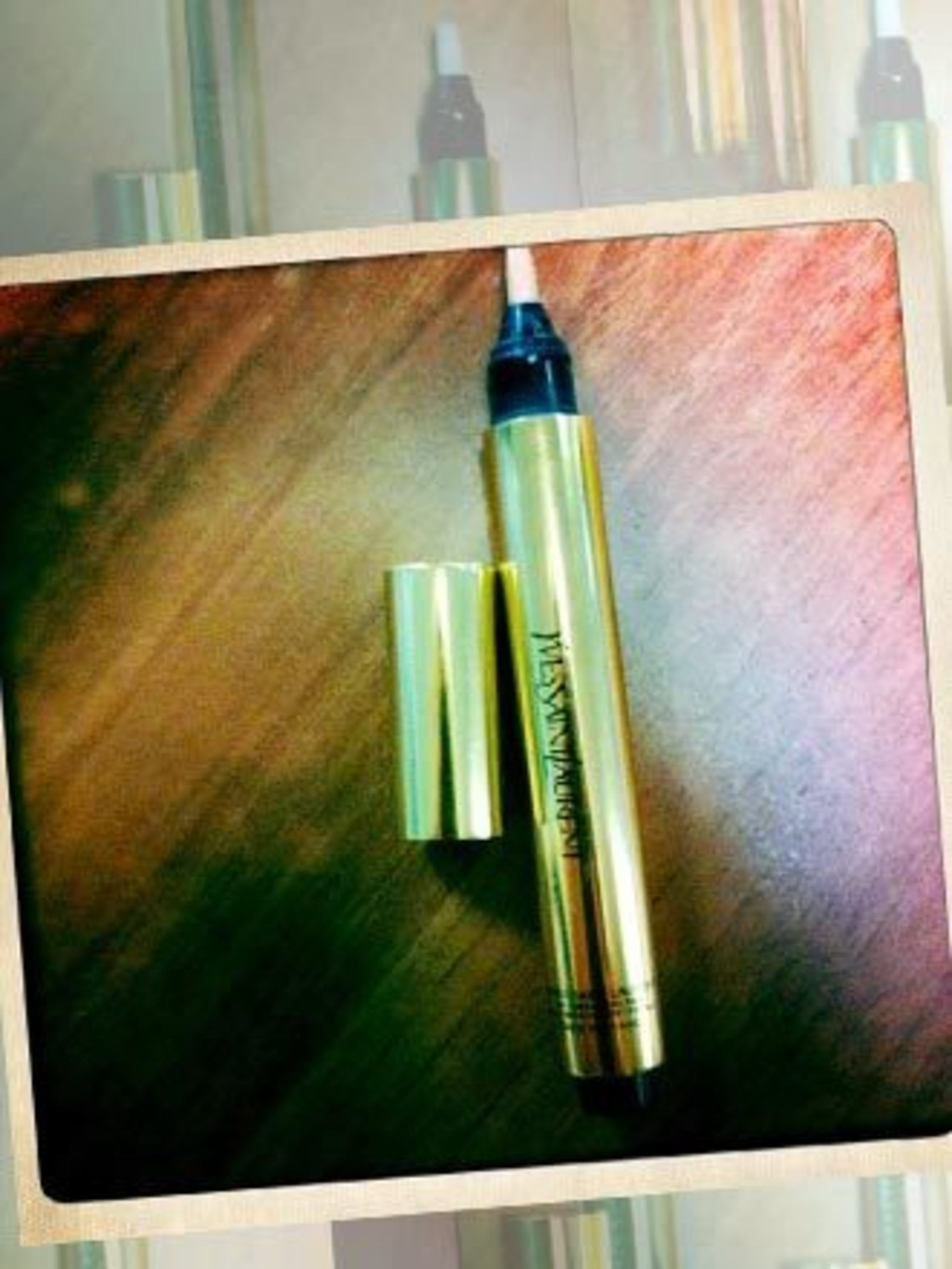 <p><strong>Carrie Gorman, ELLEuk.com Editor:</strong> <em>YSL Touche Eclat</em> 'I'm not a loyal beauty buyer but there's one sole product I've been buying since I was fifteen: YSL's Touche Eclat. Not a groundbreaking revelation but it's part of my make-u