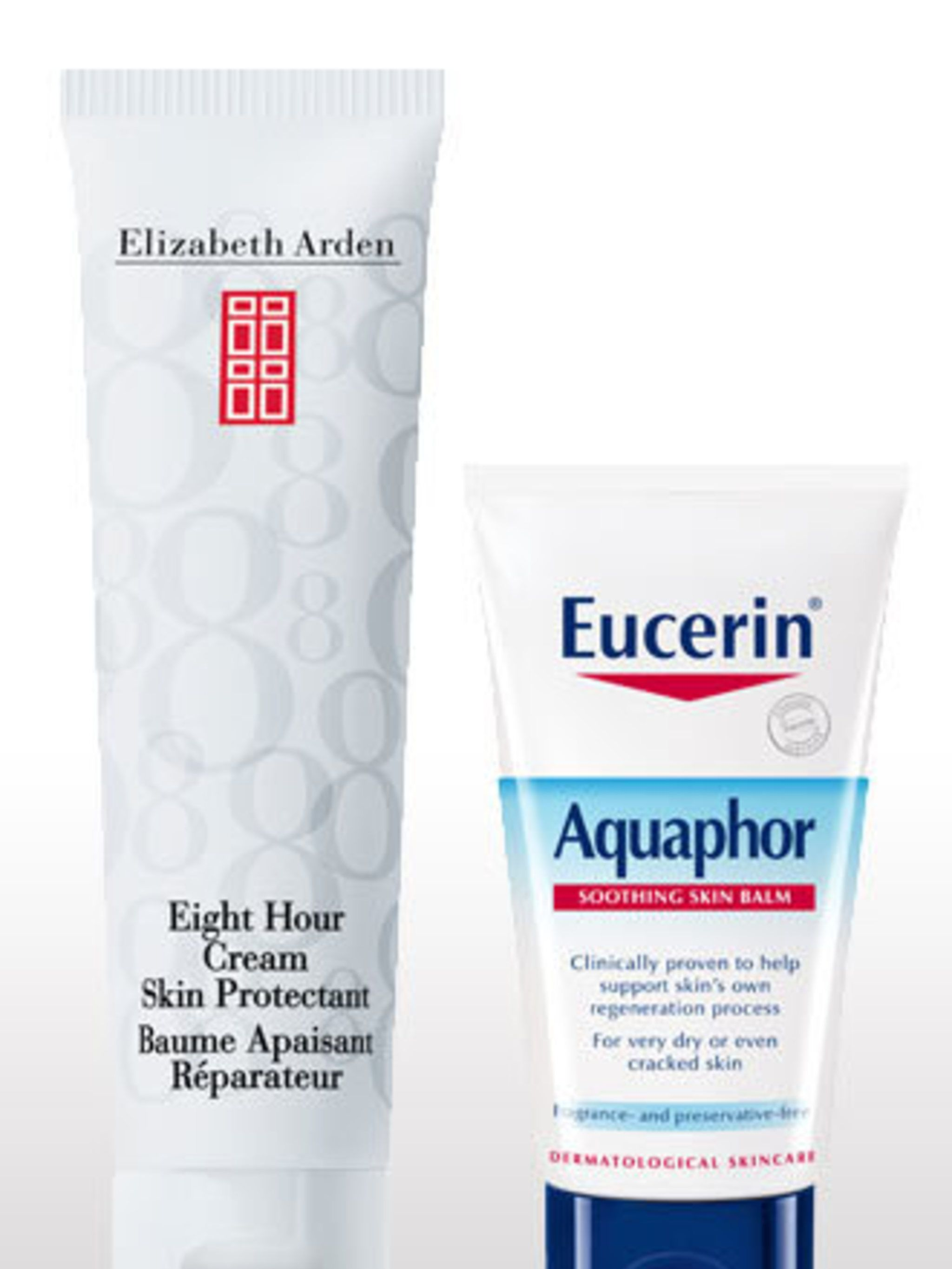 """<p>Lips are one of the first casualties of winter and extreme dehydration is usually exacerbated by drying central heating. Try applying a layer of Eucerin Aquaphor Soothing Skin Balm, £8.20 (b<a href=""""http://www.boots.com/en/Eucerin-Aquaphor-Soothing-Ski"""
