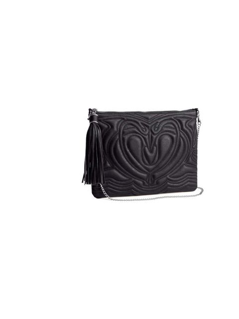 "<p>This little beauty is on Market and Retail Editor Harriet Stewart's shopping list. The quilted design and tassel make for a quirky twist on the classic black bag.</p><p><a href=""http://www.hm.com/gb/product/13303?article=13303-A"">H&M</a> bag, £14.99</p"