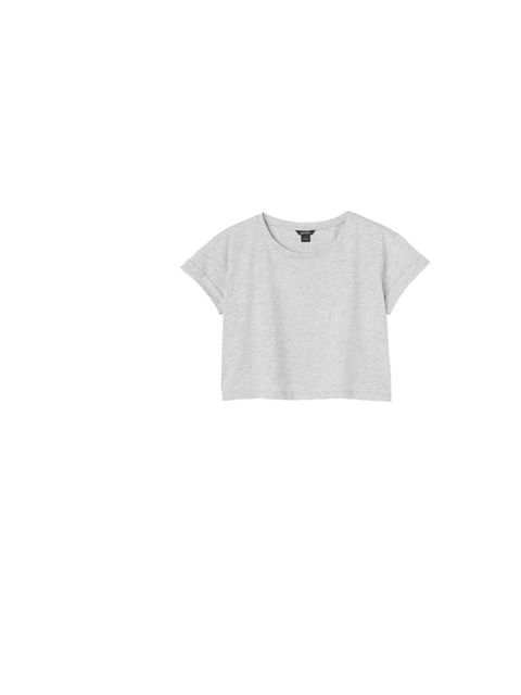 "<p>Crop it like it's hot with Monki's 'Mimmi' tee, £8, <a href=""http://www.monki.com/Shop"">www.monki.com</a></p>"