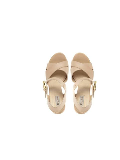 "<p>I'll wear these nude leather sandals with printed trousers and a pedicure - perfect for the office and after work drinks, too.</p><p>- Charlie Gowans-Eglinton, Fashion Intern</p><p><a href=""http://www.dune.co.uk/flick-two-part-block-heel-leather-sandal"